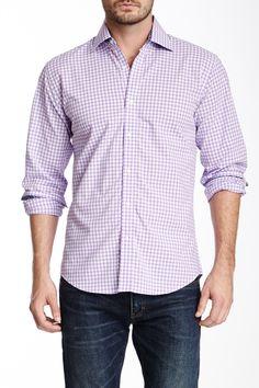 Bristol & Bull   Gingham Long Sleeve Shirt   Nordstrom Rack