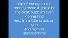 Luke Bryan - Drunk On You Lyrics, via YouTube.