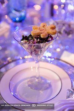 appetizer in wineglass at denver ctr for performing arts denver colorado #GOWSRedesign