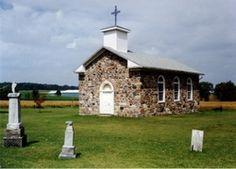 Saint Anthonys Roman Catholic Pioneer Cemetery  Shakespeare  Ontario  Canada