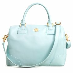 Robinson Satchel by Tory Burch. love this color