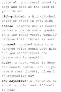Voices.