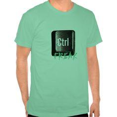 Control Freak Ctrl Key Keyboard T Shirt, Hoodie Sweatshirt