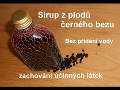 Sirup z plodů bezu - YouTube Korn, Herbalism, Food And Drink, Drinks, Youtube, Health, Medicine, Syrup, Herbal Medicine