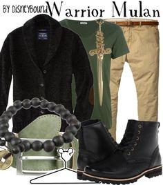 Disney Bound - Warrior Mulan