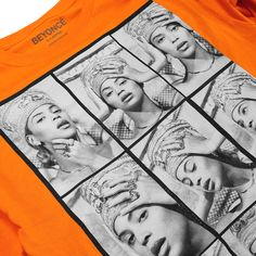 NEFERTITI CONTACT SHEET LONGSLEEVE - Beyonce