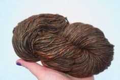 hand spun undyed natural yarn  browns   merino by amandajane450 (Craft Supplies & Tools, Sewing & Needlecraft Supplies, hand spun, yarn, spinning, wool, hand dyed)