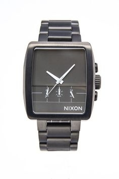 Nixon Axis Watch  Been wanting a square (ish) watch for a while!!  And boom!