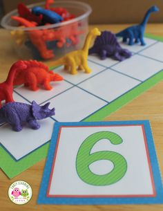 Counting & Number Activities with a Ten Frame