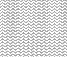 Chevron Grey fabric by misstiina on Spoonflower - custom fabric