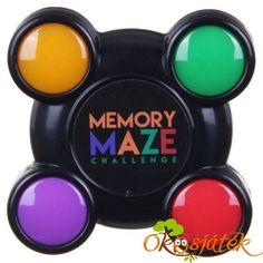 Memory Maze (kicsi) - memória játék villanó fényekkel (7cm) LC6020 (FU)