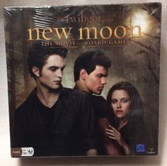 New Sealed The Twilight Saga New Moon The Movie Board Game Ages10+ 2- 4 Players #CardinalIndustries