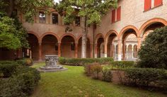 St.Anne's cloister - This is the cloister of St.Anne' church near the city center of Ferrara, it's near one of the most trafficated streets of the city but when you are inside it's really silent, you don't realize that you are in town.