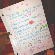 Clever Ways To Ask Out A Girl