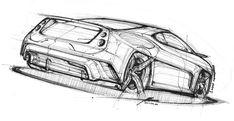 Sketchbook & Inktober 2017 on Behance Car Design Sketch, Car Sketch, Automotive Design, Auto Design, Wow Video, Industrial Design Sketch, Car Illustration, Islamic Art Calligraphy, Car Drawings