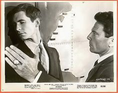 Anthony Perkins and Raf Vallone in Phaedra