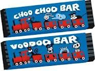 choo choo bars...my all time favourite back in the 60 s. the new ones are nothing like the original.