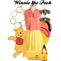 """Winnie the Pooh"" by amarie104 on Polyvore"