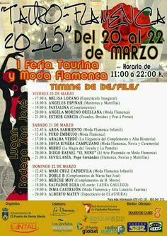 Desfile Tauro Flamenca, Puerto de Santa María, complementos flamenca Marta Sanjosé