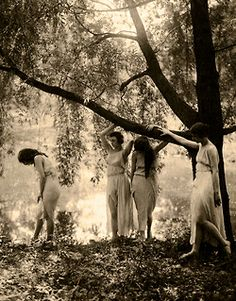 Wood Nymphs c.1917