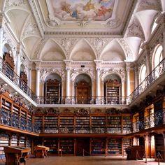 biblioteca dell'abbazia di tepla (repubblica ceca)