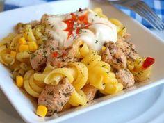 Vynikající oběd za 20 minut z jedné pánve Cold Dishes, What To Cook, Pasta Salad, Potato Salad, Mashed Potatoes, Macaroni And Cheese, Salads, Spaghetti, Food And Drink
