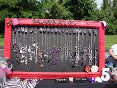 Mrs. C with Style!: Paparazzi Jewelry Display Board & Giveaway!!