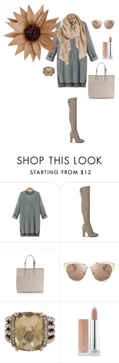 """Untitled #190"" by federica-arcuri ❤ liked on Polyvore featuring Giorgio Armani, Christian Dior, David Yurman and Nordstrom"