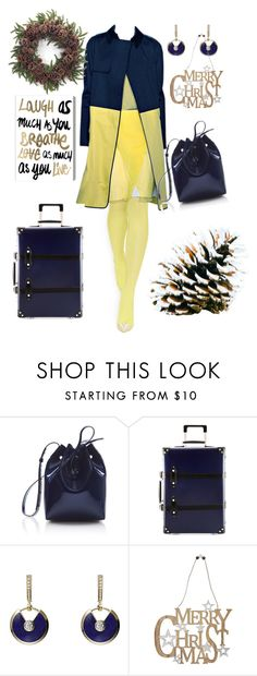 """""""Untitled #815"""" by belinda54-1 ❤ liked on Polyvore featuring Reed Krakoff, Mansur Gavriel, Globe-Trotter, Cartier, M&Co and Oliver Gal Artist Co."""