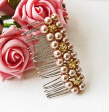 Bridesmaids Hair Accessories, Flowers, Pins, Barettes, Combs - Page 4