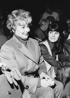 Lucille ball and daughter