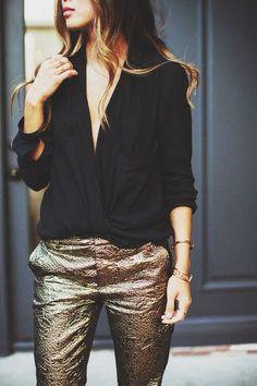 #fashion #gold #shiny