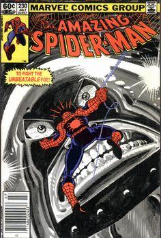 Amazing Spider-man 230  Spider-man vs Juggernaut
