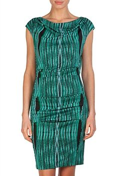 COuntry road - $149 Print Tuck Dress