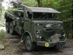DAF YB 616 takelwagen, Royal Dutch Army