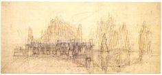 frank lloyd wright drawings   Hollyhock House - Frank Lloyd Wright - Los Angeles - California, Page ...