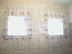 Magnificent Shower Window Trim Kit Gallery - Bathroom with Bathtub .