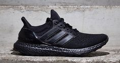 "adidas Ultra Boost ""Triple Black"" - Zajawkaadidas Ultra Boost Triple Black-Zajawka"