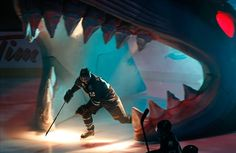 My favorite hockey team is the San Jose Sharks. Hockey Rules, Hockey Teams, Ice Hockey, Patrick Marleau, Cool Sharks, Hockey Boards, Bicycle Bell, Game 7, San Jose Sharks