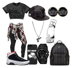 """""""Kilroy"""" by life957 ❤ liked on Polyvore featuring Retrò, MCM and Maria Francesca Pepe"""