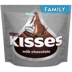 Make your next party or gathering sweeter with KISSES Milk Chocolates. You can fill all your candy dishes and still have plenty of KISSES Milk Chocolates left over to send home as party favors. Kisses Candy, Hershey Kisses, Fun Baking Recipes, Cereal Recipes, Office Candy Dish, Candy For Sale, New Dessert Recipe, Filled Candy, Movie Night Snacks