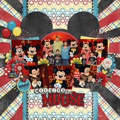 Fun layout for meeting Mickey