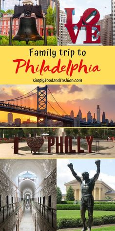 Our family recently returned from Philadelphia. Check out this list of things to. - Our family recently returned from Philadelphia. Check out this list of things to do in Philly on yo - Philadelphia Things To Do, Visit Philadelphia, Philadelphia History, Road Trip With Kids, Travel With Kids, Family Travel, Family Vacations, Great Places, Places To See