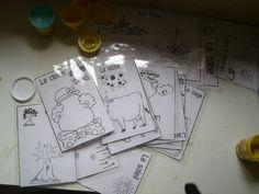 fiches pâtes à modeler Plus Playdough Activities, Activities For Kids, Plasticine, Petite Section, Busy Bags, Play Doh, Primary School, Montessori, Preschool
