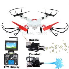 43.36$  Buy here - http://alixao.worldwells.pw/go.php?t=32741510624 - WLtoy V686G RC drone quadcopter helicopter with 5.8G FPV WIFI Real Time camera BUbble Fountain VS Syma X5C X8W X8HC X8HW X8G X8C 43.36$