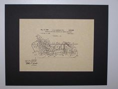 Courtney Motorcycle Front Wheel Suspension and Steering Arrangement 1959 Patent Drawing Motorcycle