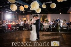 Kylie & David's first dance! #wedding #weddinginspiration #eventspace Photo by Rebecca Marie Photography & Design