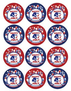 4th of July FREE Printables