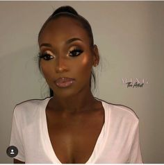 Gorgeous Makeup: Tips and Tricks With Eye Makeup and Eyeshadow – Makeup Design Ideas Makeup On Fleek, Flawless Makeup, Cute Makeup, Eyebrow Makeup, Glam Makeup, Gorgeous Makeup, Beauty Makeup, Makeup Looks, Hair Makeup