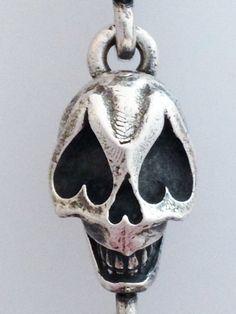 Sugar Skull Pendant - Solid Silver £95